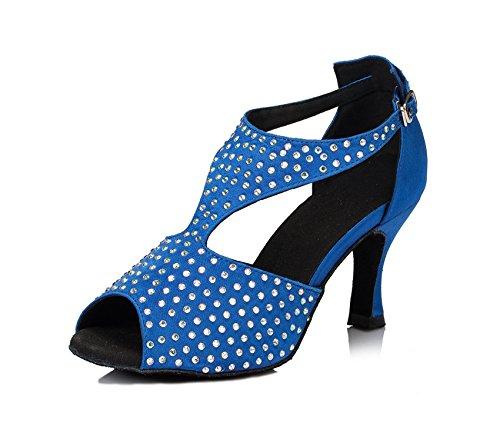 Miyoopark - salón mujer Blue-7.5cm heel