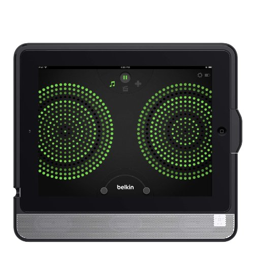 Belkin Thunderstorm Handheld Home Theater Speaker and Case for iPad 4 with Lightning Connector by Belkin (Image #1)