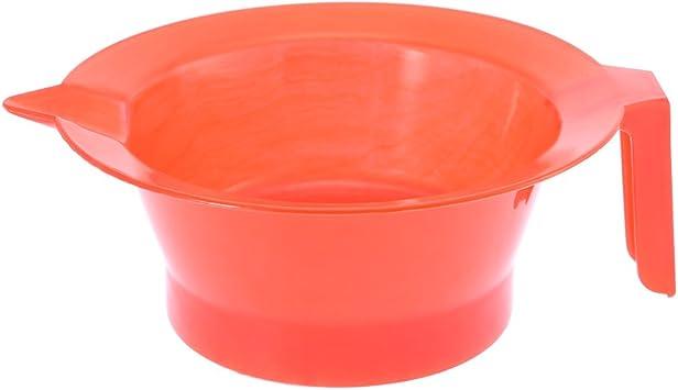 Anself pelo tinte bol rojo Base antideslizante fácil de lavar ...
