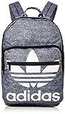 adidas Originals Unisex Trefoil Pocket Backpack, Onix Jersey/Black, ONE SIZE