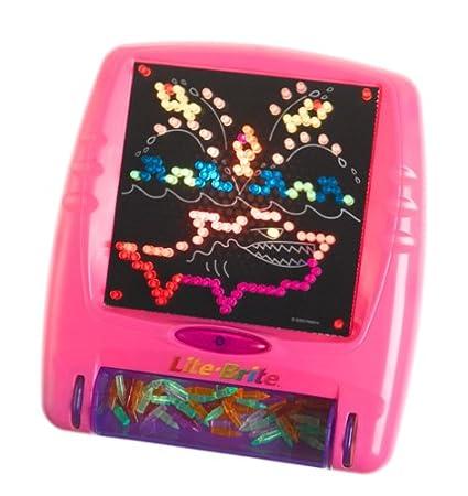 Hasbro Lite Brite Flat Screen: Pink