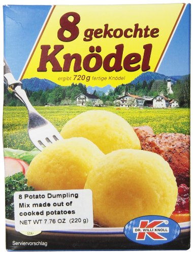 Dr. Willi Knoll Potato Dumpling Mix, 7.76-Ounce Bags (Pack of 6)