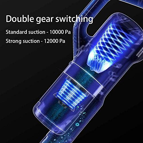 SMLZV Bâton Aspirateur sans fil, multifonctions portable vertical léger Aspirateur, avec batterie rechargeable, 120W haute puissante, for la voiture Accueil Moquette