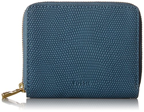 Fossil Rfid Mini Multifunction Wallet, Faded Indigo