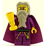 Dumbledore (Purple, YF) - LEGO Harry Potter Minifigure