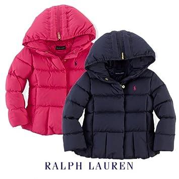 1dee35f61a9ff ラルフローレン ダウンコート 女の子 6X(6~7歳) ピンク  Baby Product