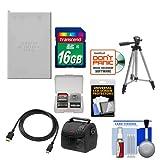 Essentials Bundle for Nikon Coolpix P520, P530 Camera with EN-EL5 Battery + 16GB Card + Case + Tripod + HDMI Cable + Accessory Kit
