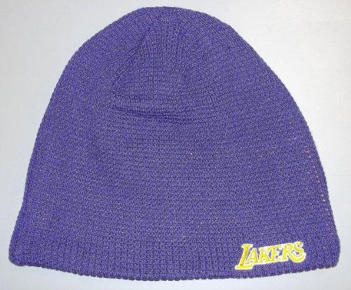NBA Reversible Knit Hat - Ke82Z, Los Angeles Lakers, One Size, (Nba Reversible Fleece)