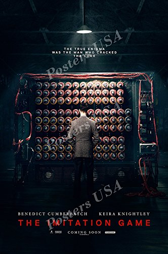 "Posters USA - Imitation Game Movie Poster GLOSSY FINISH - MOV175 (24"" x 36"" (61cm x 91.5cm))"