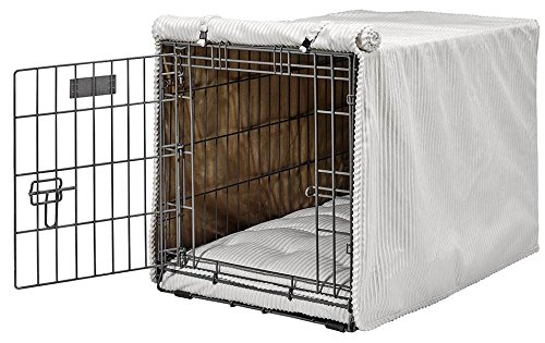 Bowsers Luxury Crate Cover, Small, Marshmallow