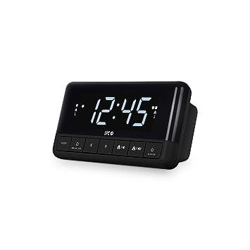 Spc Floki Radio FM Despertador conpantalla led y Dos alarmas