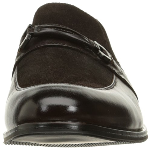 Stacy Adams Mens Selby Moc Toe Bit Slip-On Slip-On Loafer Brown mWMgMk6Gu