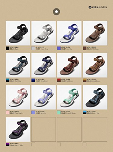 510621a0d2f5 ATIKA Women s Maya Trail Outdoor Water Shoes Sport Sandals W107