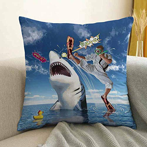 FreeKite Sealife Microfiber Unusual Marine Navy Life Animals