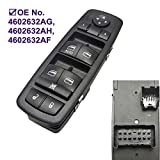 Master Power Window Switch for Dodge Journey Nitro Liberty Liberty Driver Front Driver Side 4602632AG 4602632AH 4602632AF 4602632AD 4602632AC