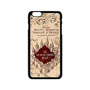 SANYISAN Harry Potter Marauder's Map Cell Phone Case for Iphone 6