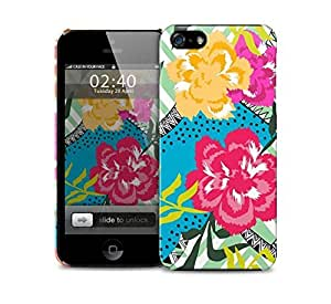 floral collage bright colours iPhone 5 / 5S protective case