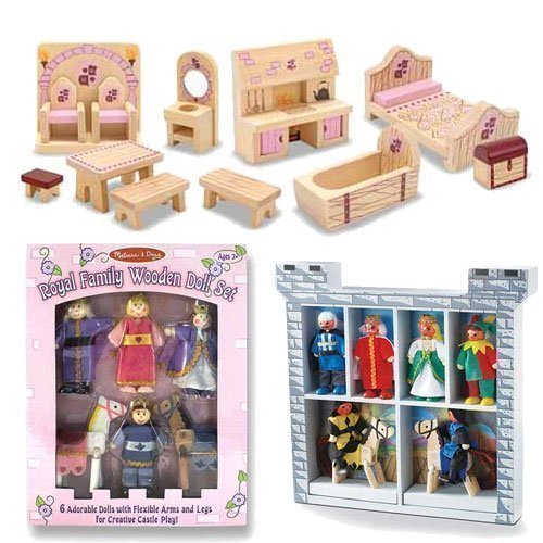 Princess Castle Furniture Set - 3