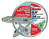 Strata 8'' Metal Heavy Duty Pulley- Ball Bearing Style