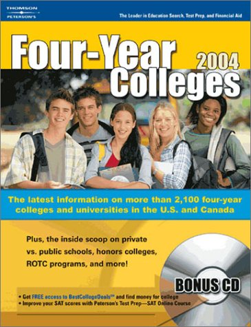 Four Year Colleges 2004, Guide to (Peterson's Four Year Colleges)