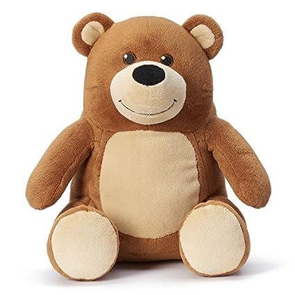 Amazon Com Kohls Cares Plush Brown Bear Salina Yoon Stuffed Animal
