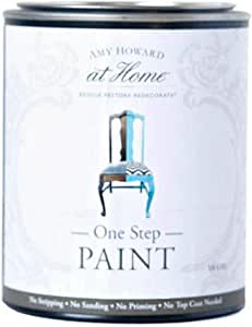 Amy Howard Home | One-Step Paint | Linen | Chalk Finish Paint | Zero VOCs | Eco-Friendly | No Stripping, Sanding or Priming | Multi-Surface Furniture & Cabinet Paint