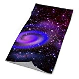 Seamless Face Mask Spiral Universe Face Scarf