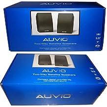 AUVIO 2-Way Satellite Speakers (2 In each Package)