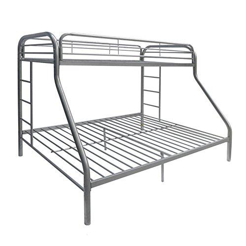 Acme Furniture 02052SI Tritan Bunk Bed, Twin X-Large/Queen, Silver