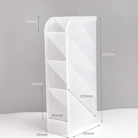 Zxcvbnm - Estuche de almacenamiento para bolígrafos de plástico transparente: Amazon.es: Hogar