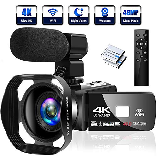 4K Camcorder Digital Camera