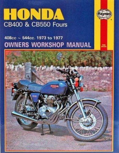 amazon com honda cb400 cb550 fours haynes repair manual 1973 rh amazon com honda cb 400 four service manual honda cb400 service manual pdf