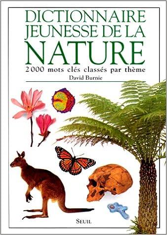 Livre Dictionnaire jeunesse de la nature pdf