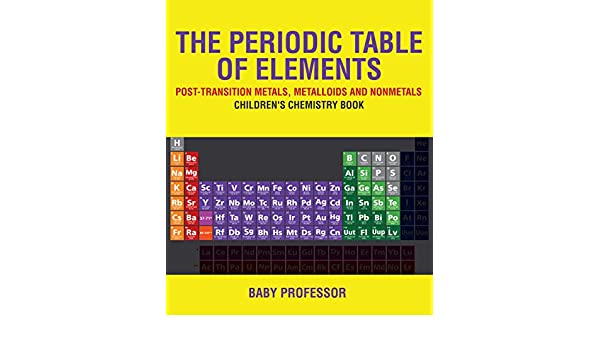 Amazon The Periodic Table Of Elements Post Transition Metals