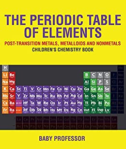 the periodic table of elements post transition metals metalloids and nonmetals childrens