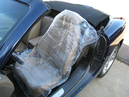 612524150965 Upc Disposable Plastic Auto Seat Covers 3