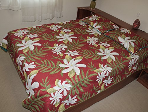 Hawaiian-Quilt-100-Polyester-Micro-Fabric-4mm-Thin-Comforter-Queen-Full-Size