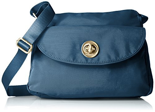 Blue Provence Slate Body Cross International CHR Bag Gold Baggallini qwO41v4