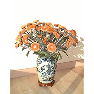 Neuhaus Decor 16 x 24 Pot Marigold, Artificial Flowers (WITHOUT VASE) 102