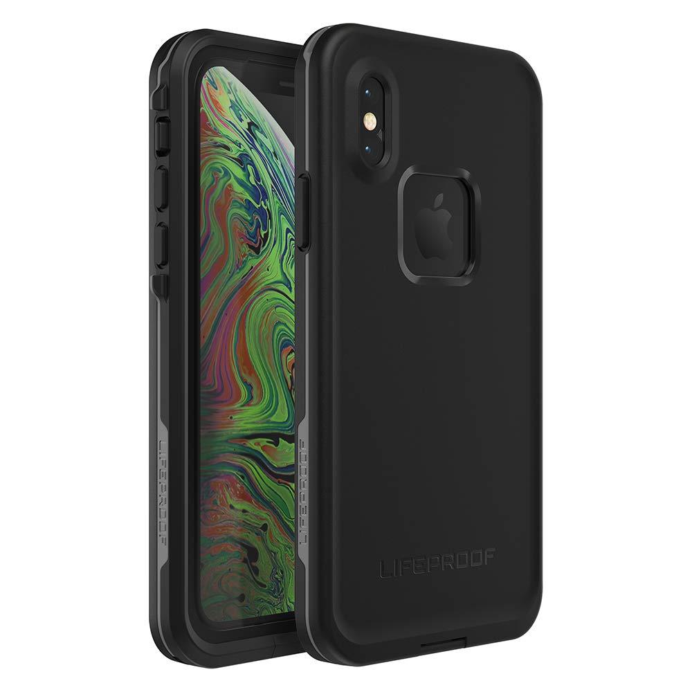 Lifeproof FRĒ SERIES Waterproof Case for iPhone Xs - Retail Packaging - ASPHALT (BLACK/DARK GREY) by LifeProof
