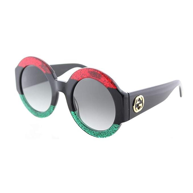 Gucci GG0084S 001 Gafas de sol, Rojo (Red/Grey), 51 para ...