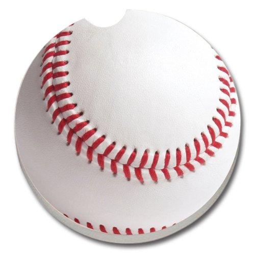 CounterArt Absorbent Stoneware Coaster Baseball