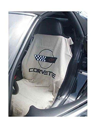 Seat Armour SA100COR4T Tan 'Corvette C4' Seat Protector - Corvette C4 Interior
