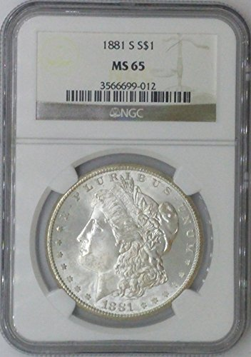 1881 S Morgan $1 MS64 NGC MS