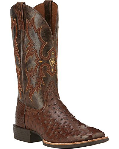 Ariat Mens Quantum Classic Western Cowboy Boot Antique Tobacco
