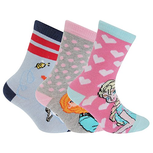 with Girls Frozen Socks design