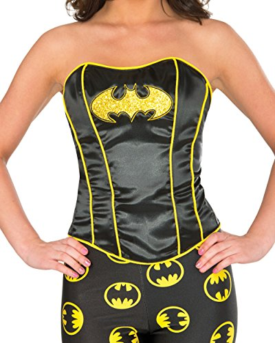 Batwoman Costume For Adults (Rubie's Women's Corset, Batgirl, Medium/Large)