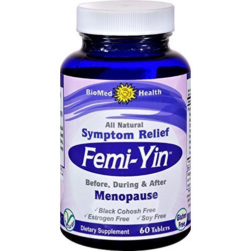 Biomed Health Inc Femi Yin Menopause Relief 60 Cap by Biomed Health
