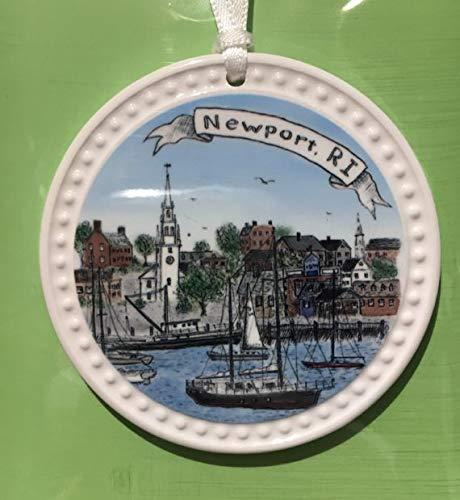 - Ceramic Ornament Newport Harbor