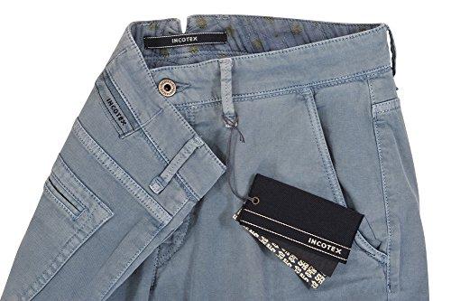 Incotex Pantalon Homme 33 Bleu clair / Chinos Skinny Fit Slim Cut